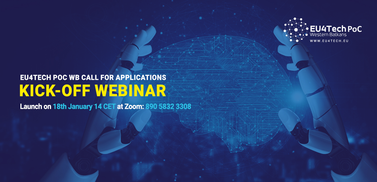 Online launch of the 2021 EU4TECH PoC Call, January 18, 2021 at 14:00 CET