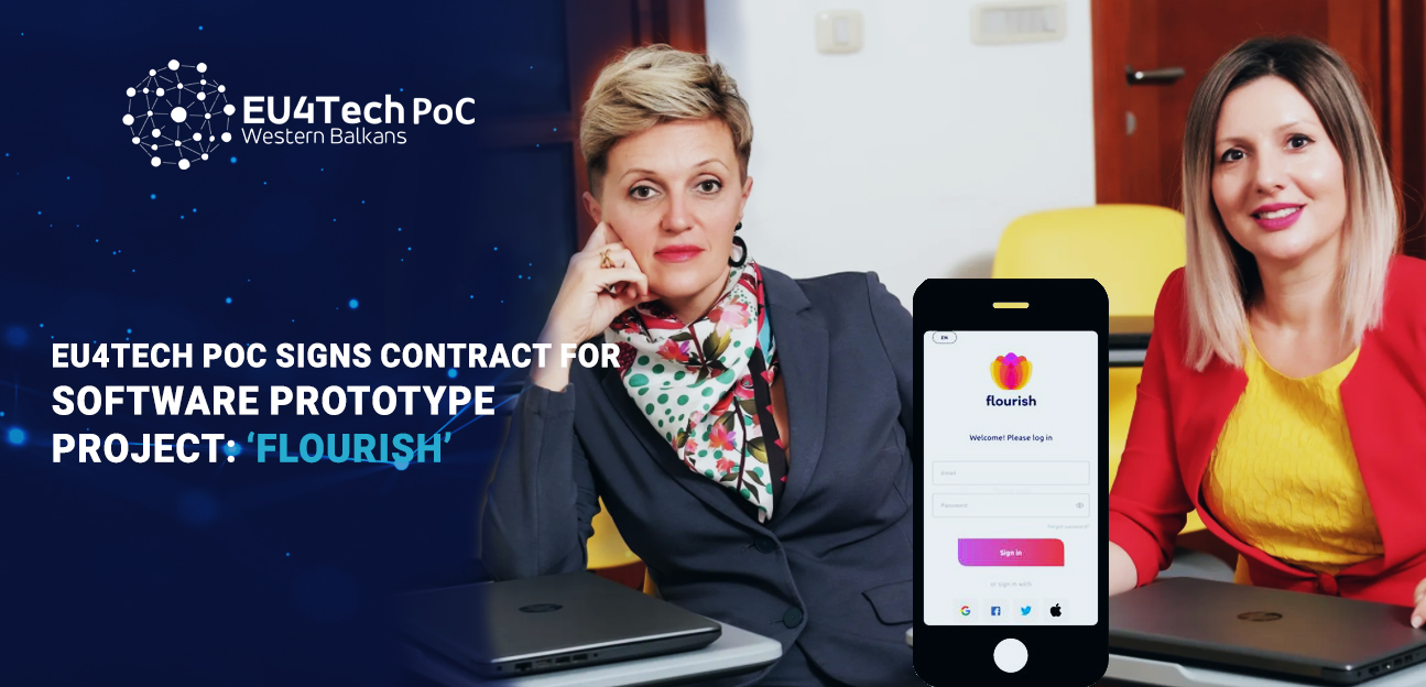 EU4TECH PoC signs contract for software prototype project: 'Flourish'